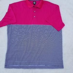Footjoy golf polo shirt